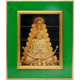 Azulejo Virgen del Rocío