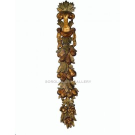 Overdoors on wood: Bouquet of Fruits - 122 cm