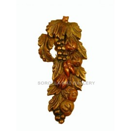 Wood Carvings: Fruit Bouquet - 45 cm