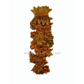Wood Carvings: Bouquet of Flowers - 55 cm