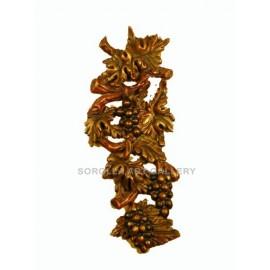 Tallas madera: Ramo de Uvas - 55 cm
