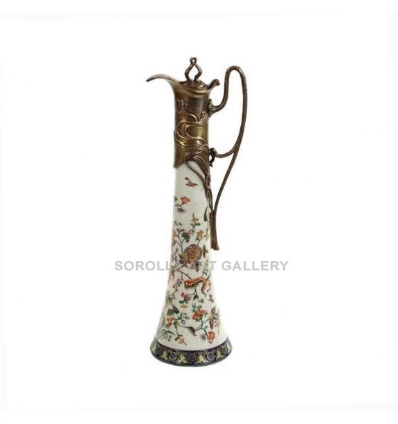 Porcelana decorada: Jarra 39cm - Milex
