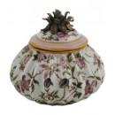 Porcelana decorada: Caja piña 18cm - Komachi