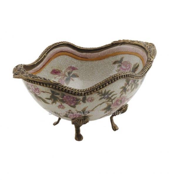 Porcelana decorada: Cuenco bañera 17cm - Komachi