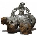 Esculturas: Menina Swarovski Plata (AL/137)