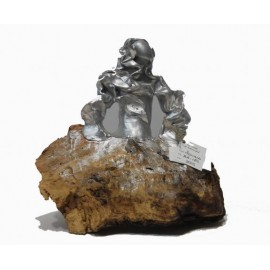 Sculptures: Menina Silver Swarovski (nº 179)