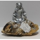 Esculturas: Menina Swarovski Plata (nº 166)