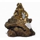 Esculturas: Menina Swarovski Oro (nº 137)