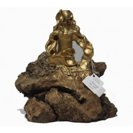 Sculptures: Menina Gold Swarovski (nº 137)