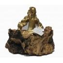 Esculturas: Menina Swarovski Oro (nº 261)
