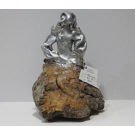 Sculptures: Menina Silver Swarovski (nº 169)