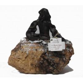Sculptures: Menina Black Swarovski (nº 124)