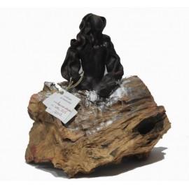 Sculptures: Menina Black Swarovski (nº 125)