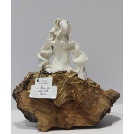 Esculturas: Menina Swarovski Blanca (nº 191)