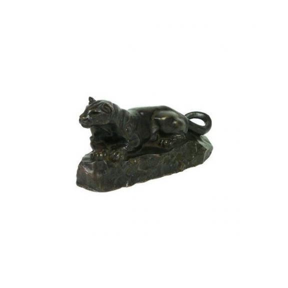 Bronces: Pantera tumbada (La Pantera de Túnez)