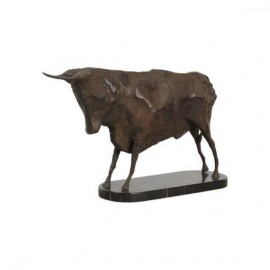 Stylized bull standing