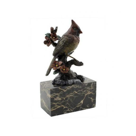 Bronces: Pájaro - Cardenal