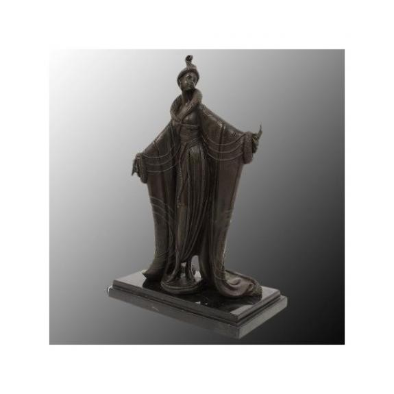 Bronces: Mujer posando - Art Decó