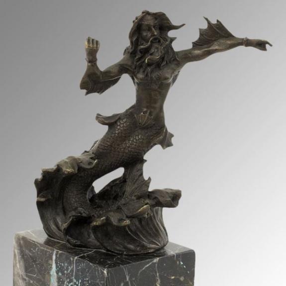 Bronces: Neptuno (Poseidon)