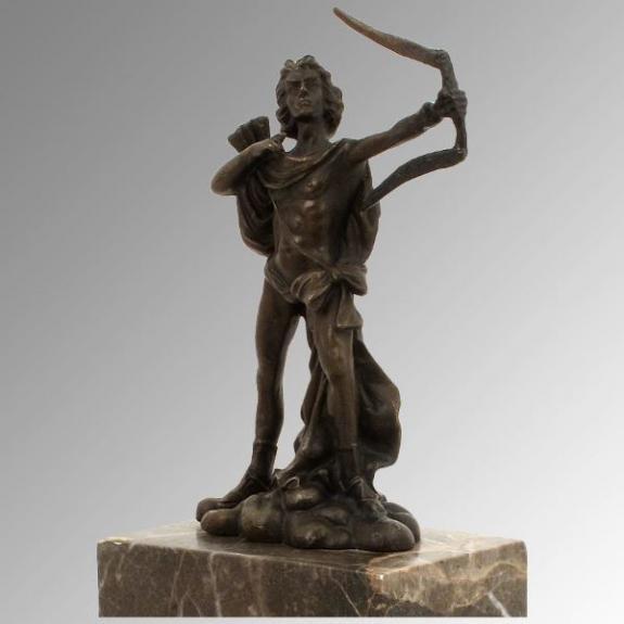 Bronces: Apolo cazador