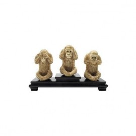 Monkeys of wisdom 10cm - Set of 3