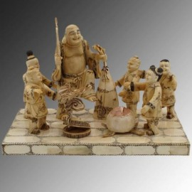 Buddha with children - 30cm