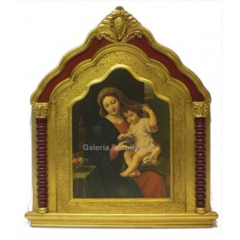 Altarpieces - Triptychs: Virgin and child