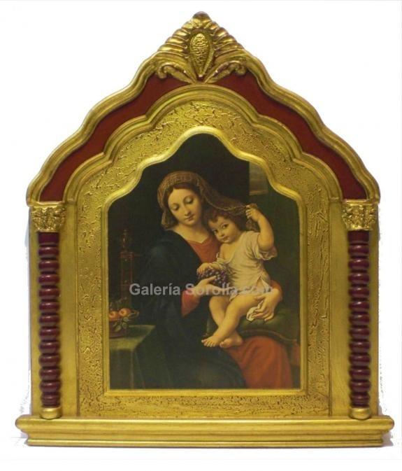 Retablos - Trípticos: Virgen con niño