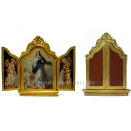 Hinged triptych - M02