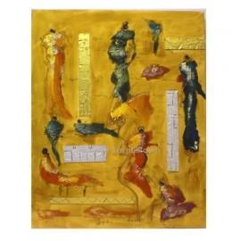Cuadros modernos: Diptico - L02