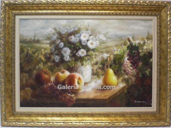 Escuela Sorolla: Bodegon con flores
