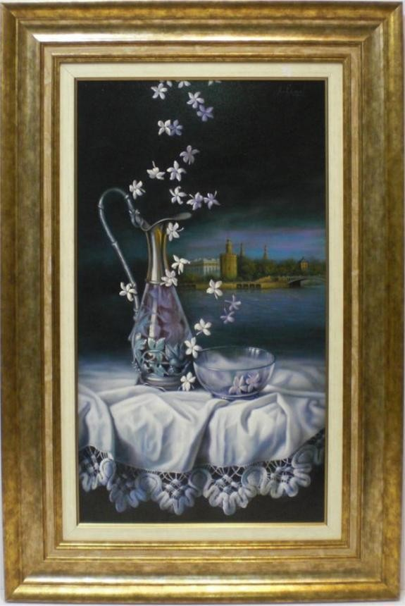 Arkángel: Flores y paño