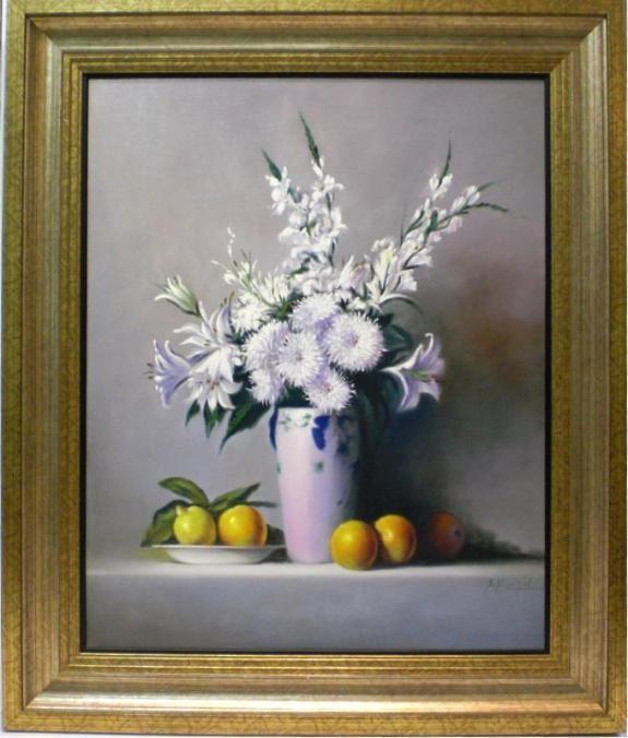 Arkángel: Bodegon flores y frutas