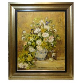 Ana Delgado: Vase of roses