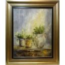 Ana Delgado: Flores blancas