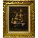 Escuela Sorolla: Flores clásicas