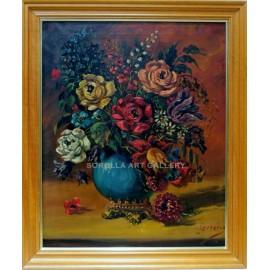 Escuela Holandesa: Flowers
