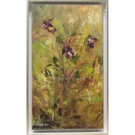 Ana Delgado: Mallow flowers