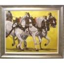 Carlos Iglesias: Enganche de caballos