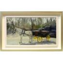 Manuel Reina: Coche de caballos