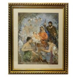 Maria Mairena: Nativity scene