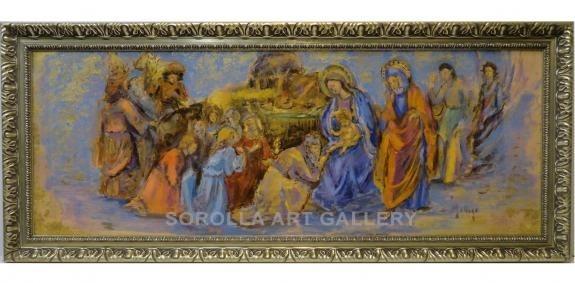 Aurora Gallego: Adoración de los Reyes Magos