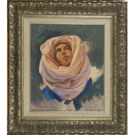 Figure with turban