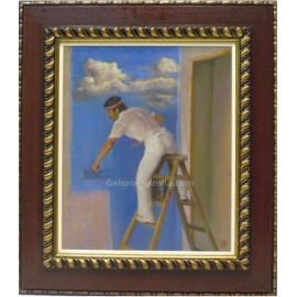 Benito Moreno: El pintor