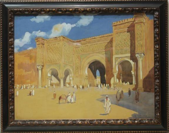 Mariano Bertuchi: Mezquita