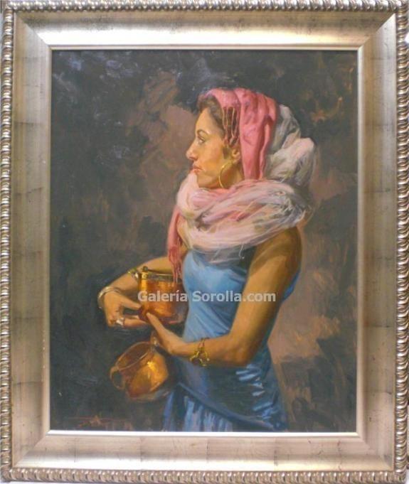 Jose María Menacho: Mujer con cofre