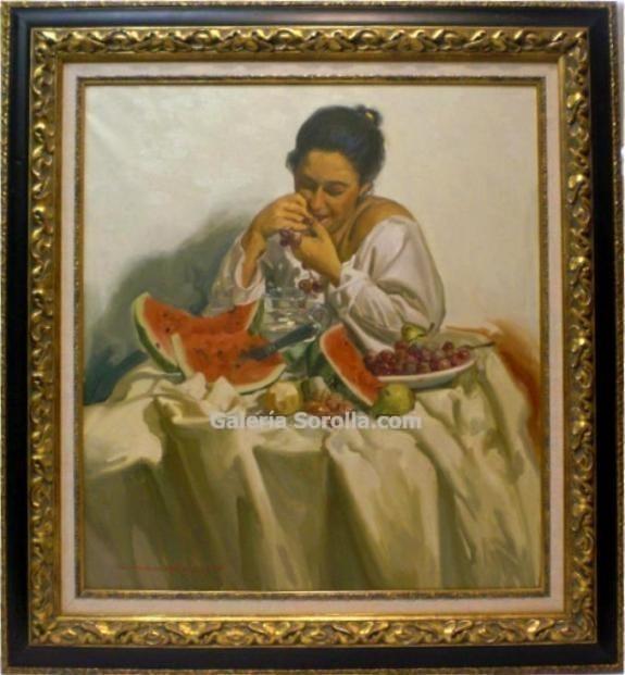 Jose María Menacho: Uvas y sandía