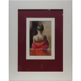 La del vestido rojo