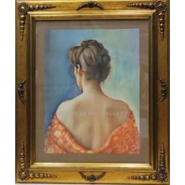 Mujer de espalda