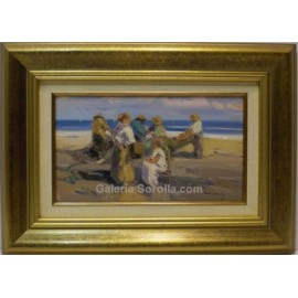 Casarrubios: Figures on the beach